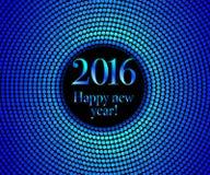 Buon anno 2016 Fotografie Stock