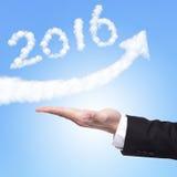 Buon anno 2016 Immagine Stock Libera da Diritti