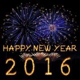 Buon anno 2016 Immagini Stock Libere da Diritti