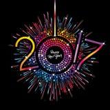 Buon anno - 2017 Fotografia Stock