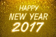 Buon anno 2017 Immagine Stock