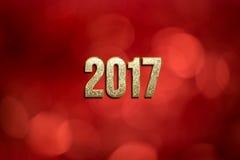 Buon anno 2017 Fotografie Stock Libere da Diritti