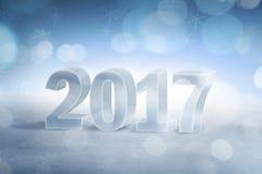 Buon anno 2017 illustrazione vettoriale