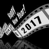 Buon anno 2017 Immagini Stock