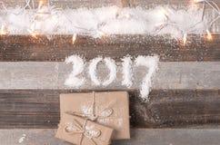Buon anno 2017 Fotografia Stock Libera da Diritti