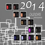 Buon anno creativo Fotografia Stock Libera da Diritti