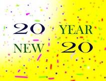 Buon anno dell'immagine illustrazione di stock