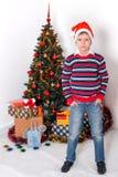 Buon anno e Christmass allegro Immagine Stock