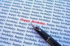 Buon compleanno. immagine stock libera da diritti