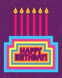 Buon compleanno Fotografia Stock