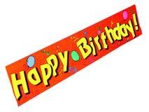 Buon compleanno! Fotografie Stock Libere da Diritti