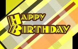 Buon compleanno Immagini Stock Libere da Diritti