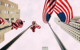 Buon compleanno America Fotografie Stock