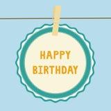 Buon compleanno note1 illustrazione vettoriale