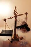 Buon contro la malvagità Fotografia Stock Libera da Diritti