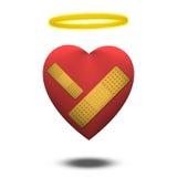 Buon cuore ferito Fotografia Stock