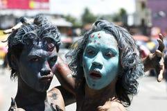 Buon festival della raccolta di Kadayawan Fotografia Stock