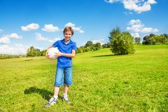 Buon giorno per giocare pallavolo Immagine Stock Libera da Diritti