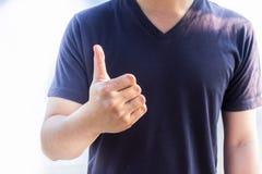 Buon linguaggio dei segni Fotografie Stock