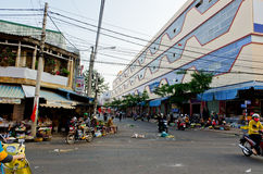 Buon Me Thuot Market. In Viet Nam royalty free stock image