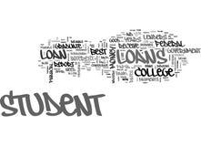 Buon migliore concetto della nuvola di parola degli studenti di Loan For College dello studente di Lord This Cant Be The Fotografia Stock