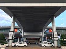 Buon morThuot flygplats, Vietnam Arkivbilder