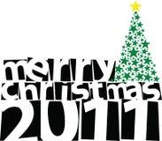 Buon Natale 2011 Fotografia Stock Libera da Diritti