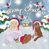 2015, Buon Natale Immagine Stock