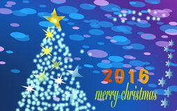 Buon Natale 2016 Immagini Stock Libere da Diritti