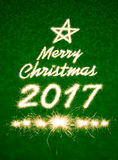 Buon Natale 2017 Immagini Stock Libere da Diritti