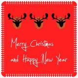 Buon Natale/carta da parati Immagini Stock Libere da Diritti