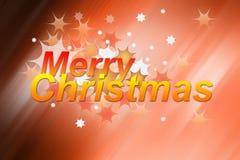 Buon Natale - cartolina d'auguri Illustrazione Vettoriale