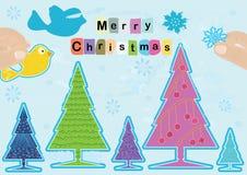 Buon Natale che inizia decorazione Immagine Stock Libera da Diritti