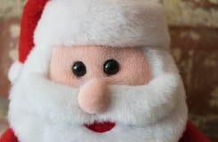 Buon Natale della bambola di Santa Claus Fotografia Stock Libera da Diritti