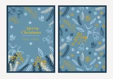 Buon Natale della cartolina Immagini Stock Libere da Diritti