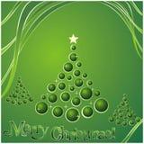 Buon Natale della scheda Immagine Stock