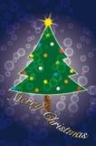 Buon Natale di desiderio Immagini Stock