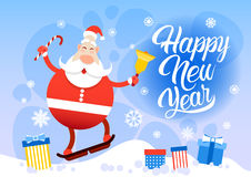 Buon Natale di Santa Claus Happy New Year Holiday Fotografie Stock
