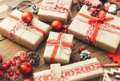 Buon Natale e buon anno Fotografie Stock