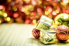 Buon Natale e buon anno Immagine Stock