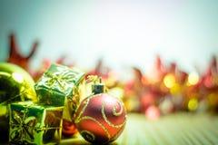 Buon Natale e buon anno Fotografia Stock