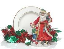 Buon Natale e bambola Fotografia Stock