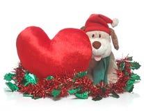 Buon Natale e bambola Immagini Stock Libere da Diritti