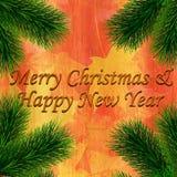 Buon Natale e buon anno royalty illustrazione gratis