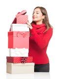 Buon Natale felice Fotografie Stock Libere da Diritti