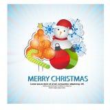Buon Natale, insieme del fondo di disegno dell'insegna Immagine Stock