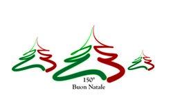 Buon Natale Italia Immagini Stock