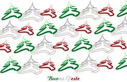 Buon Natale Italia Fotografie Stock