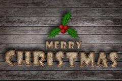 Buon Natale, natale di carta del gelso Immagini Stock