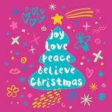 Buon Natale Nuovo anno felice Royalty Illustrazione gratis